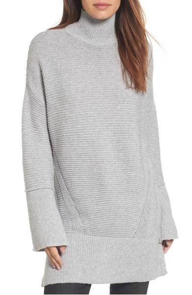 "<a href=""https://shop.nordstrom.com/s/caslon-ribbed-turtleneck-tunic-sweater/4673575?origin=keywordsearch-personalizedsort&am"