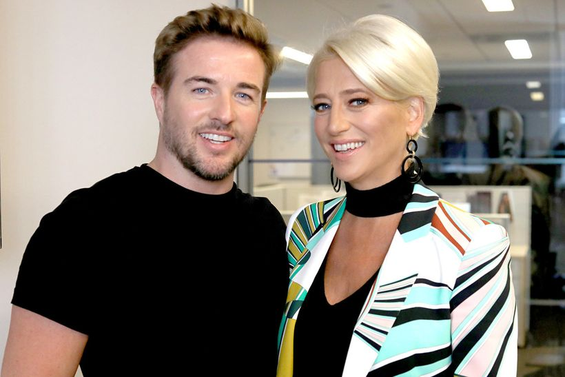 Dorinda recently got pampered by Priv and here she is with one of their guys, Luke