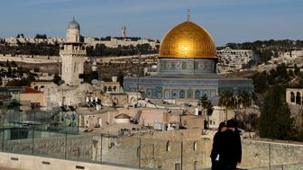 A general view shows the Dome of the Rock and Jerusalem's Old City December 4, 2017. REUTERS/Ronen Zvulun