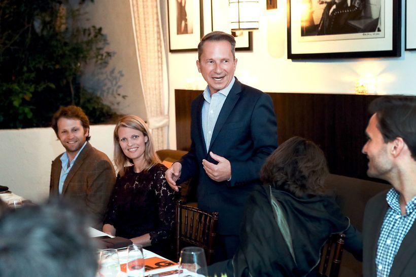Richard Socarides at the GLG Social Impact Dinner at Milken.