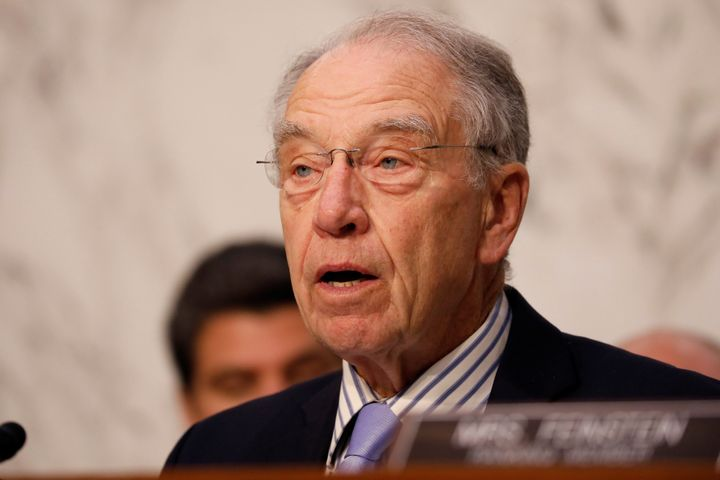Sen. Chuck Grassley's defense of estate tax cuts over the weekend was met with derision.