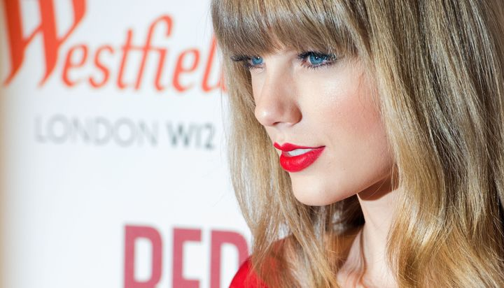 Taylor Swift has made red lipstick one of her signature beauty looks over the years.