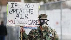 Urban Air Pollution Negates Health Benefits Of A Long Walk On City