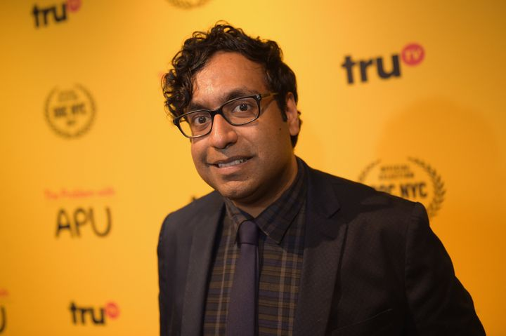 Comedian Hari Kondabolu attends truTV Presents: 'The Problem With Apu' screening and reception on Nov. 14, 2017, in New