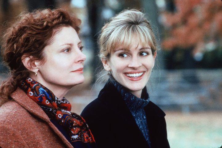 "Susan Sarandon and Julia Roberts in ""Stepmom."""