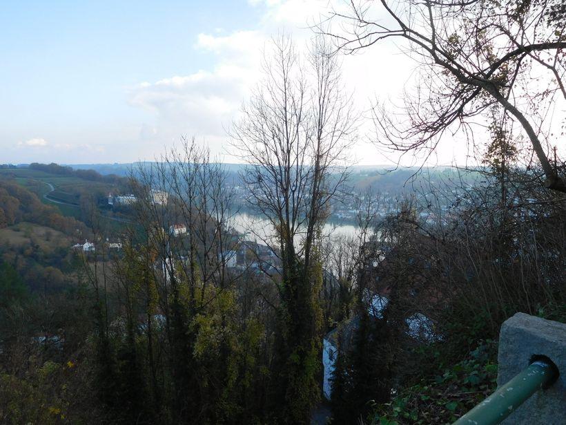 View over the Ilz