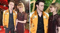 'Stranger Things' Stars Charlie Heaton And Natalia Dyer Hit Red Carpet