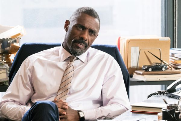 "Even though his undetectable accent in ""Molly's Game"" is borderline unforgivable, Idris Elba is still Idris Elba: charming, e"