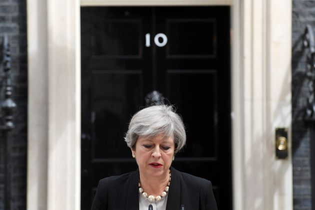 Prime Minister Theresa May was the target of an alleged terror attack