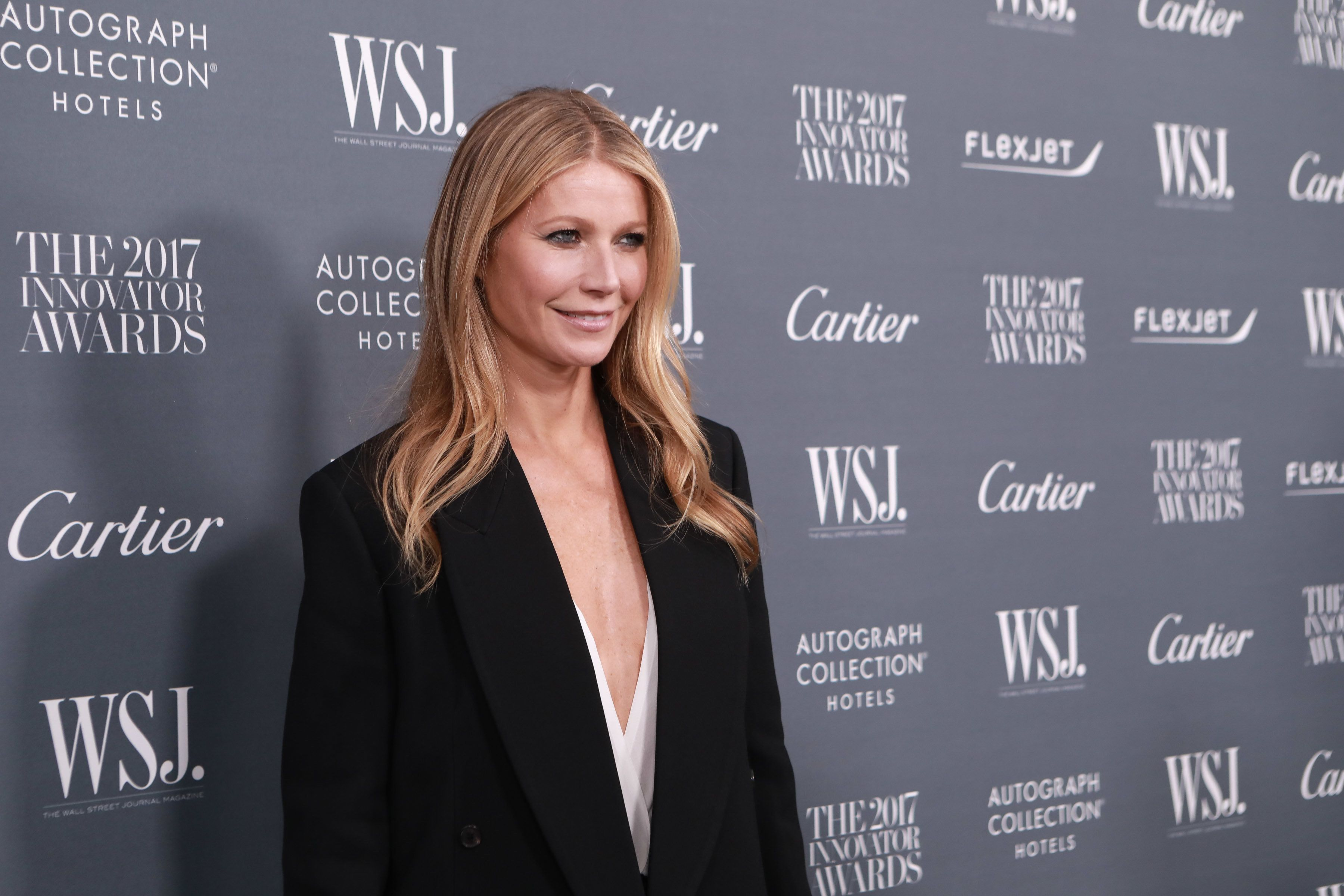 NEW YORK, NY - NOVEMBER 01:  Gwyneth Paltrow during the WSJ Magazine 2017 Innovator Awards  at Museum of Modern Art on November 1, 2017 in New York City.  (Photo by Gonzalo Marroquin/Patrick McMullan via Getty Images)