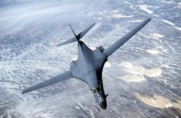 Βομβαρδιστικό B-1B των ΗΠΑ πέταξε πάνω από την Κορεατική