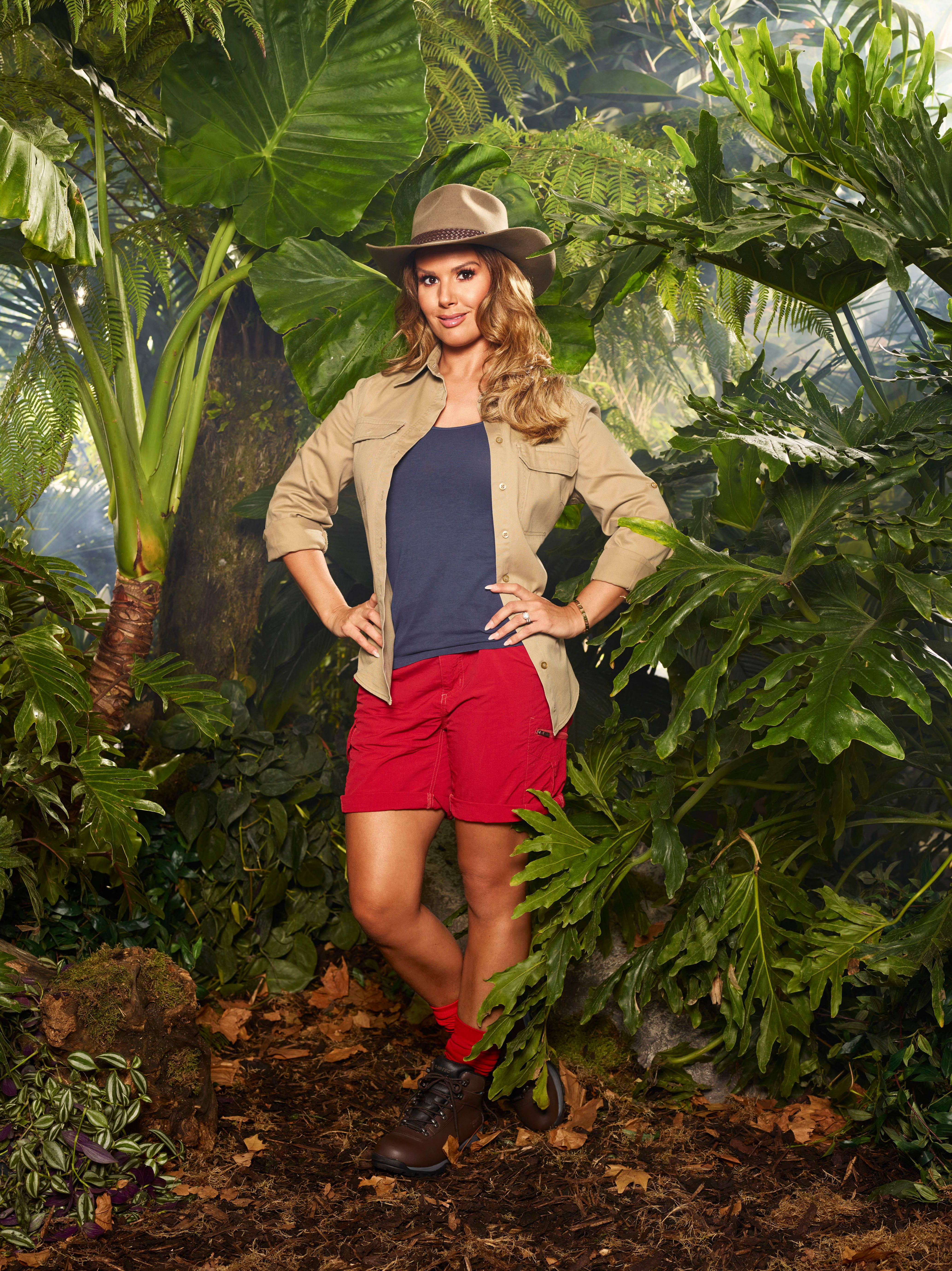 <strong>Rebekah Vardy was second to be voted out of the jungle</strong>