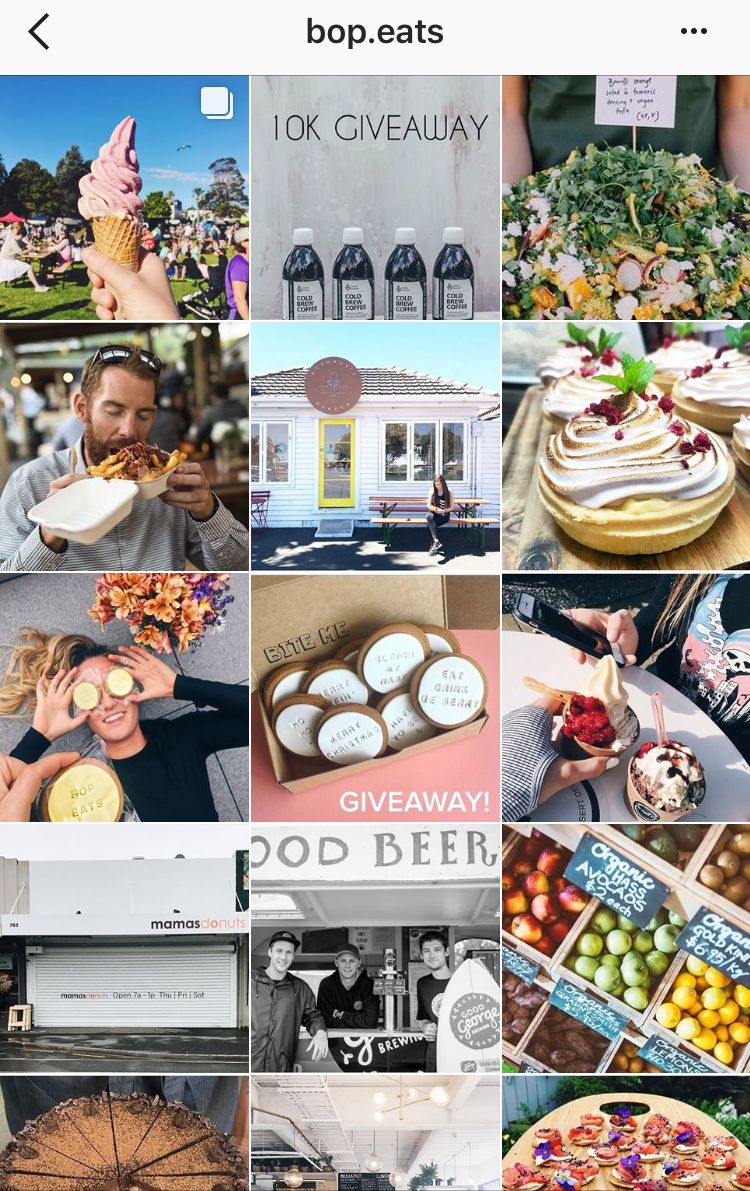 <strong>Viv's NZ food account @bop.eats</strong>