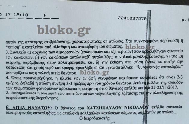 Το πόρισμα του ιατροδικαστή για τον 21χρονο φοιτητή στην Κάλυμνο. Πέθανε 3 ημέρες μετά την πτώση από...