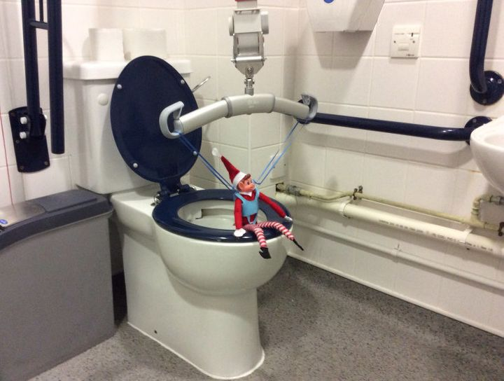 Alfie shows how crucial hoists are in disabled toilets.
