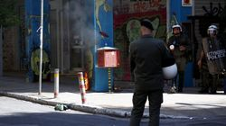 Ένταση στο κέντρο της Αθήνας με αφορμή την επέτειο της δολοφονίας του Αλέξη