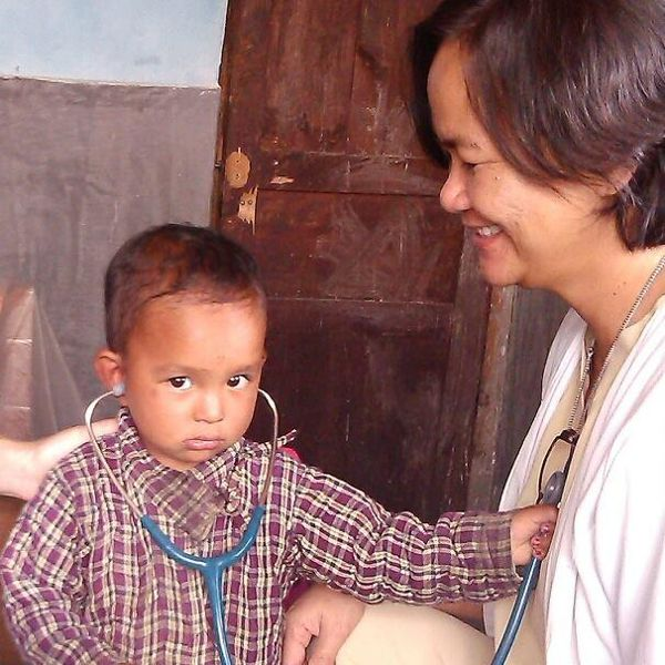 Dr Maria Aurora Uyvico volunteered for two years at a remote hospital in