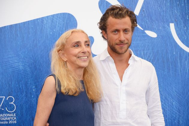 Franca Sozzani and Francesco Carrozzini attend the photocall of 'Francs: Chaos And Creation' on 2 September