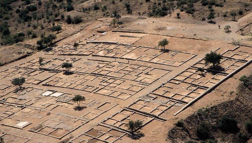 Η αρχαία πόλη της Ολύνθου...