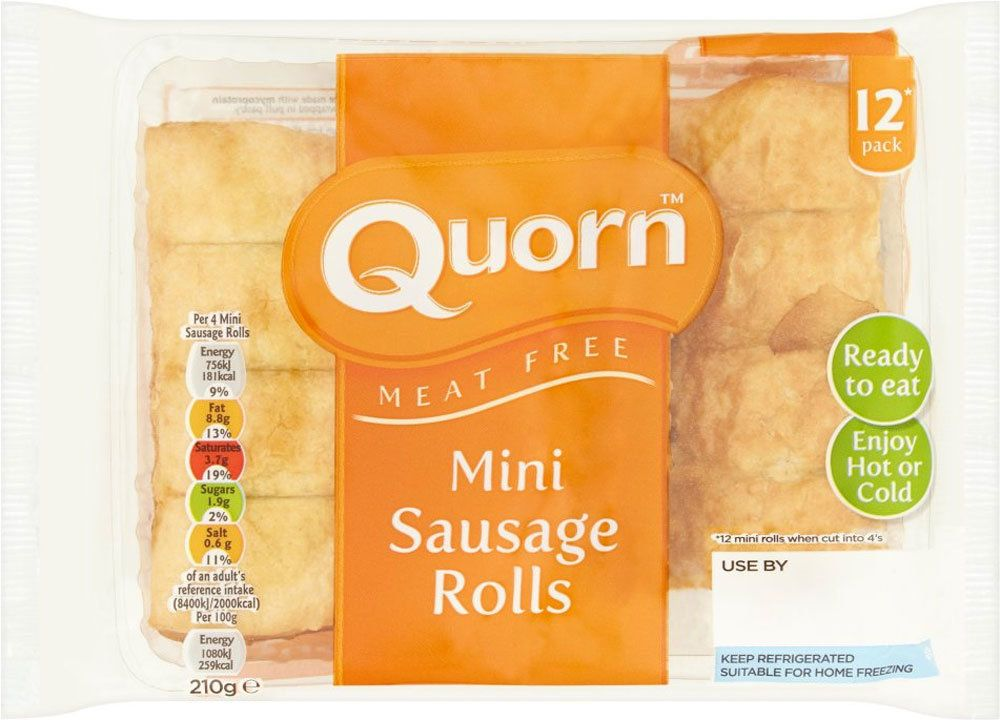 Controversy Over '12-Pack' Of Sausage Rolls Prompts Quorn To Change