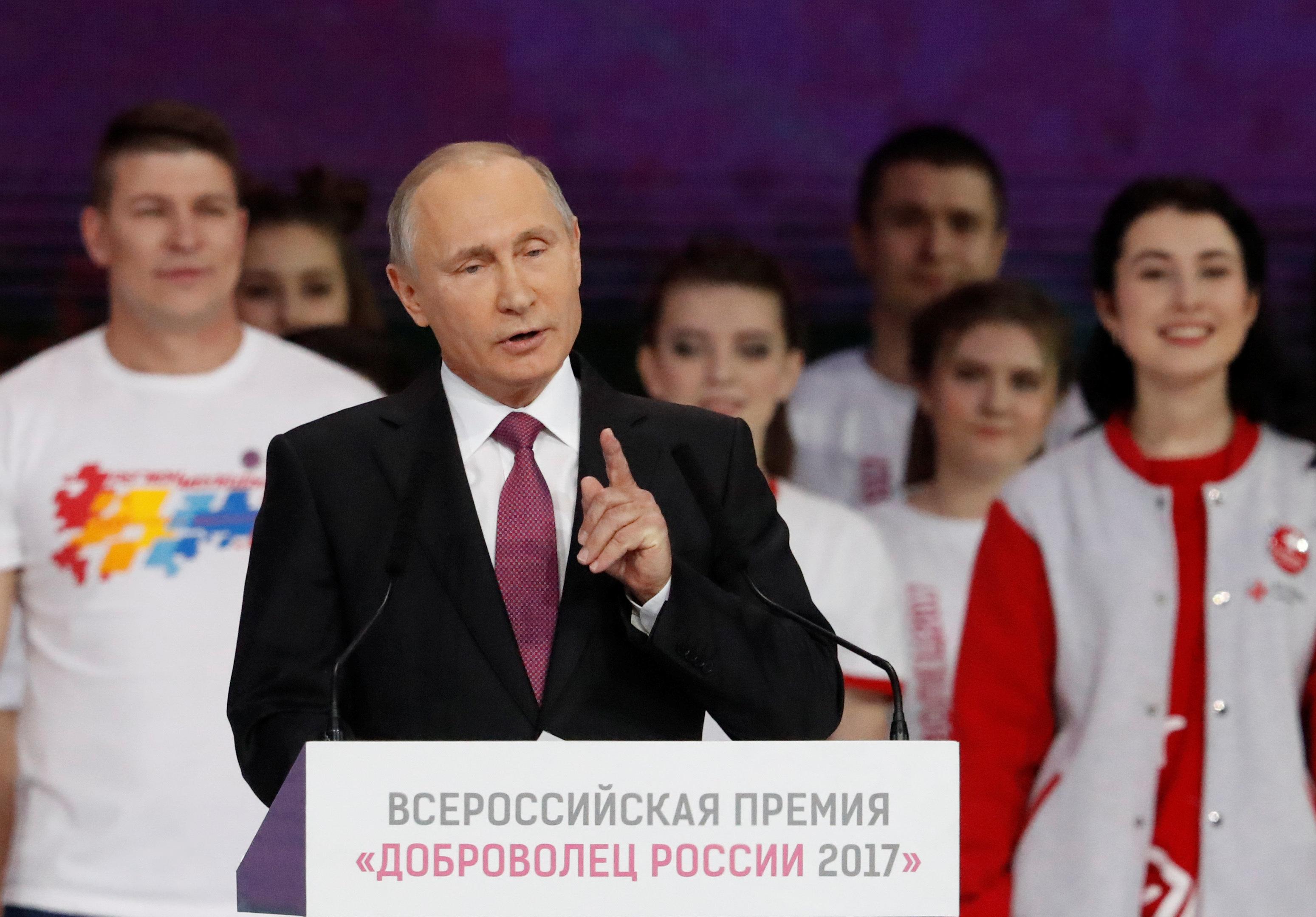 Υποψήφιος ο Πούτιν στις προεδρικές εκλογές τον Μάρτιο του