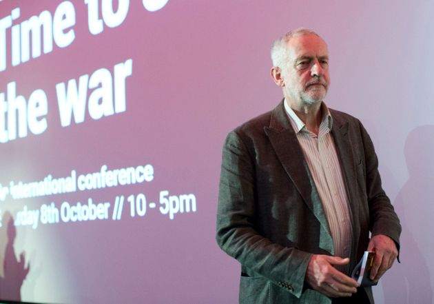 Jeremy Corbyn at the 15th anniversary of the founding of Stop the War