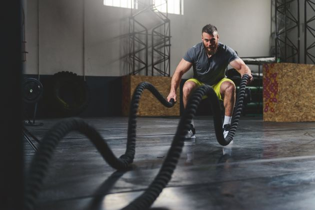 Battle Rope Workouts Are The New Gym Trend You'll Want To Try