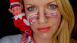 Forget The Shelf - 'Elf On The Self' Is Now A Thing Thanks To This Makeup