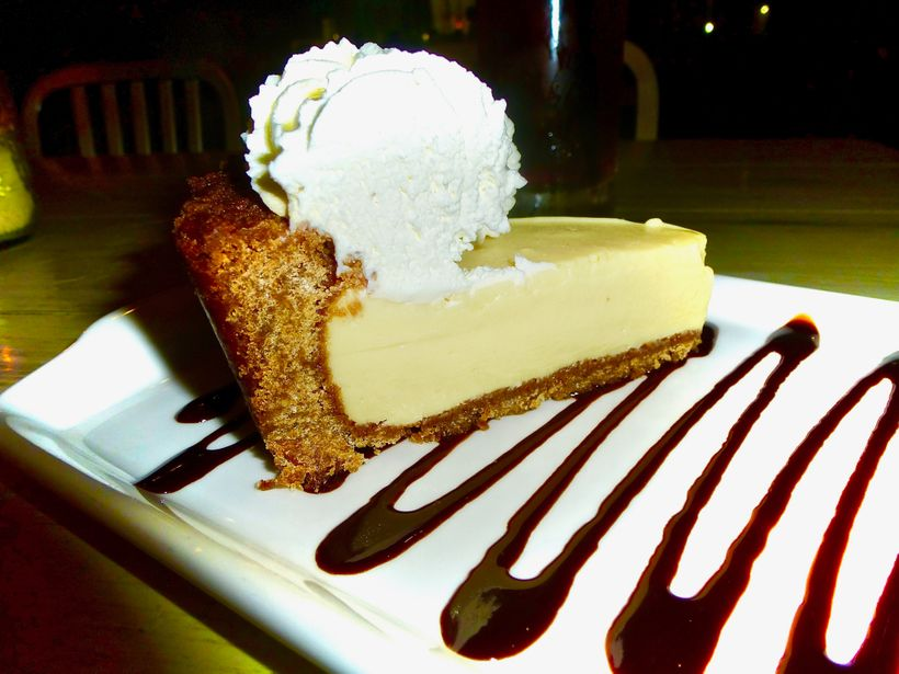 Icebox Cafe's Deep Dish Key Lime Pie