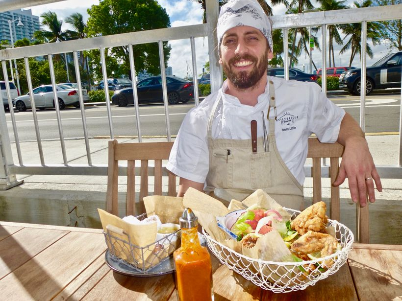 Chef Kevin Little's friendly personality is conveyed in every tasty dish at Stiltsville Fish and bar