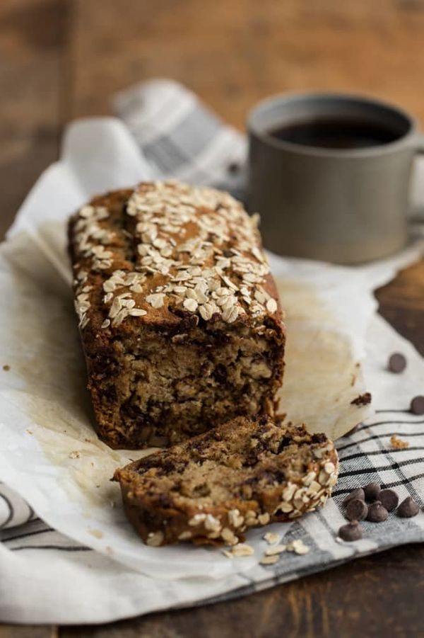 "<strong>Get the <a href=""https://naturallyella.com/whole-wheat-chocolate-chip-banana-bread/"" target=""_blank"">Whole Wheat Choc"