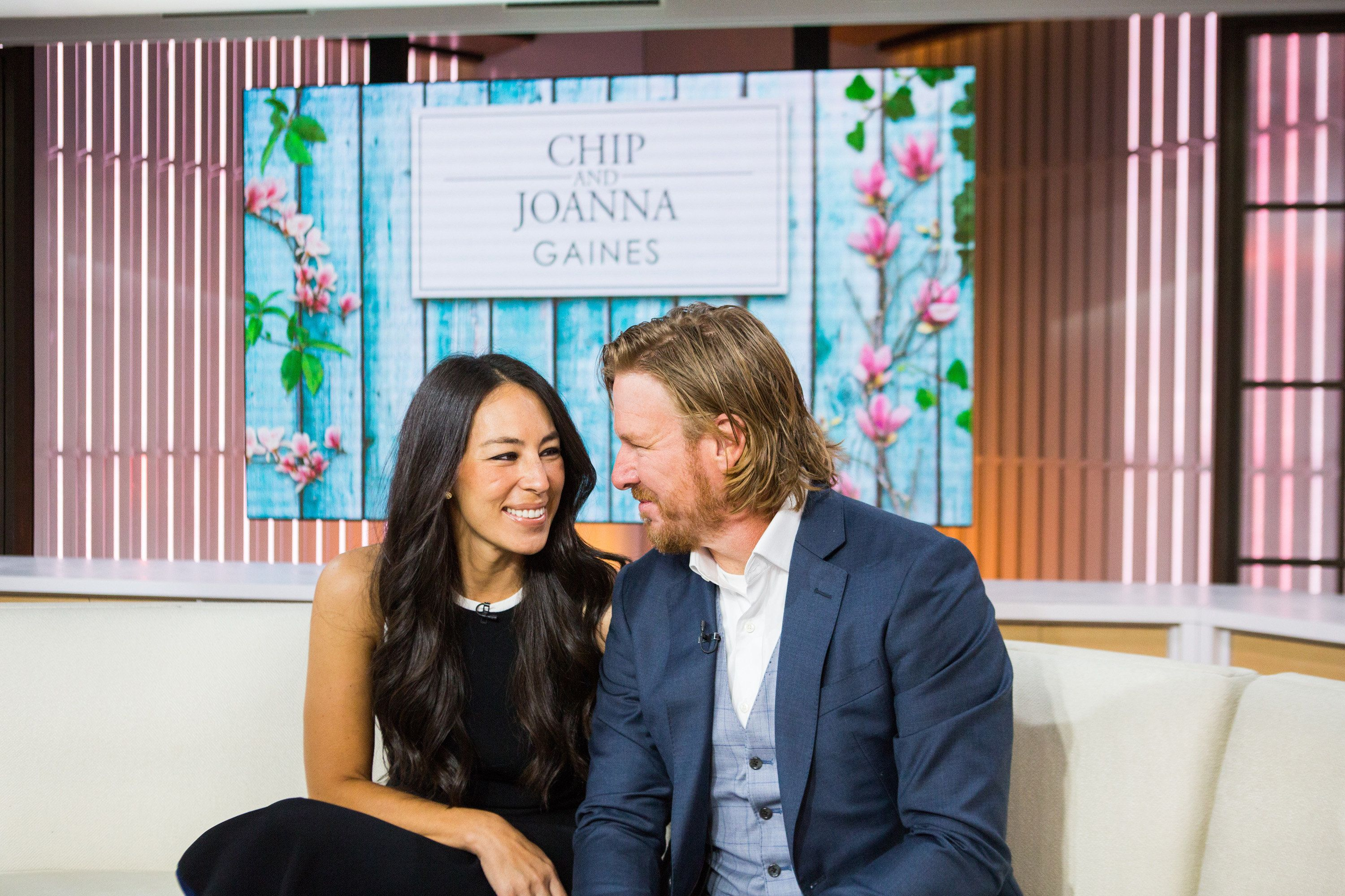 TODAY -- Pictured: Chip and Joanna Gaines  on Tuesday, October 17, 2017 -- (Photo by: Nathan Congleton/NBC/NBCU Photo Bank via Getty Images)