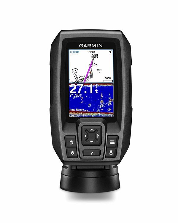 "Finding fish is easier than ever with the <a href=""https://www.amazon.com/Garmin-Striker-Bbuilt-Fish-Finder/dp/B017NI17HQ/ref"