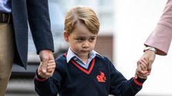 Ανέβασε φωτογραφία του πρίγκιπα Τζορτζ σε ιστοσελίδα
