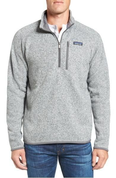 "This <a href=""https://shop.nordstrom.com/s/better-sweater-1-4-zip/4177901?origin=category-personalizedsort&fashioncolor=N"