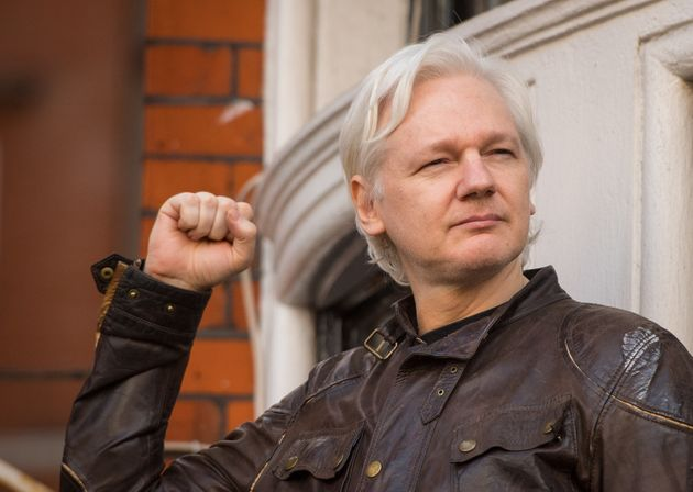 Julian Assange,who was wanted on two sexual assault charges in