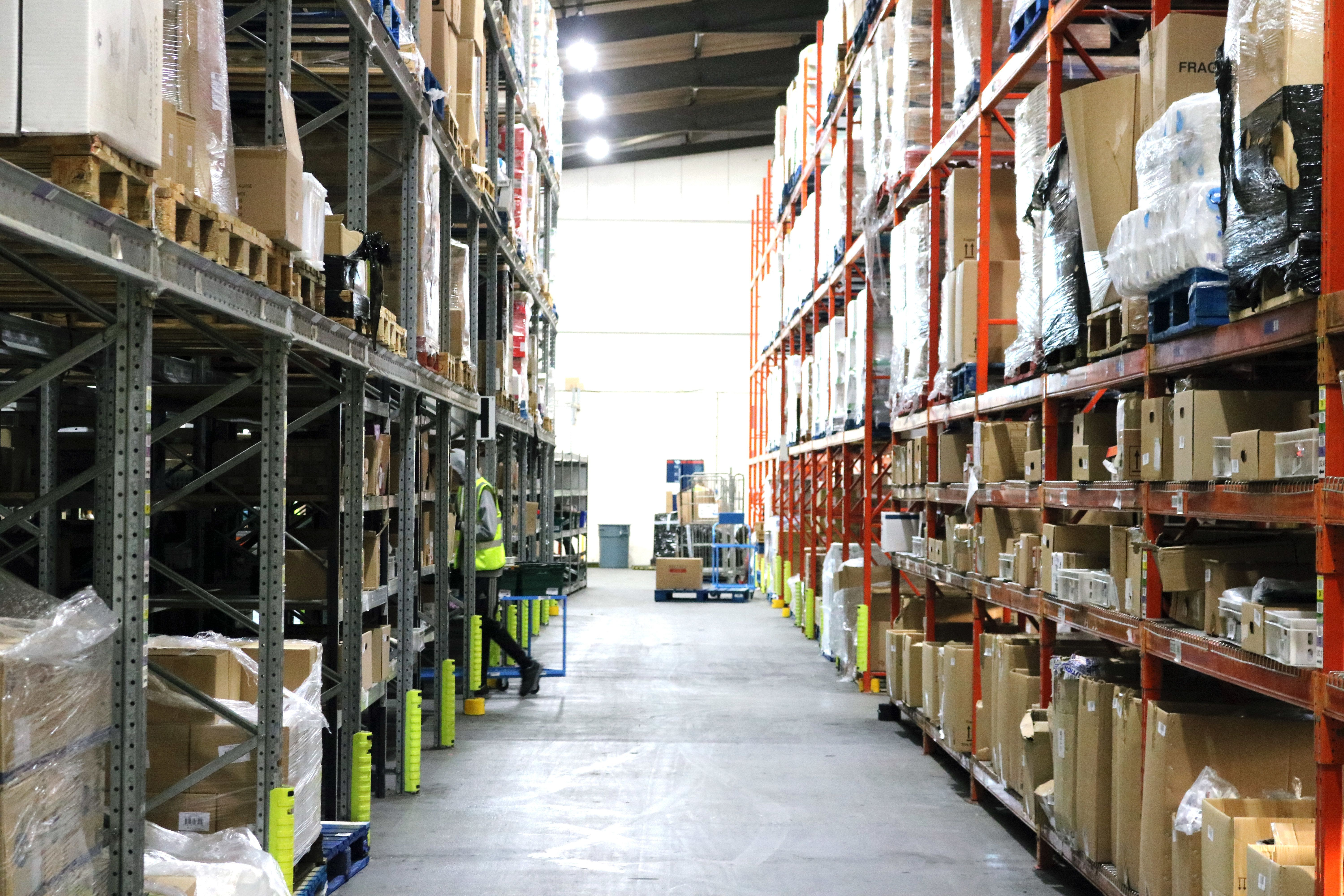 <strong>Thousands of products are held at In Kind Direct's Telford warehouse before being distributed to hundreds of charities across the UK</strong>