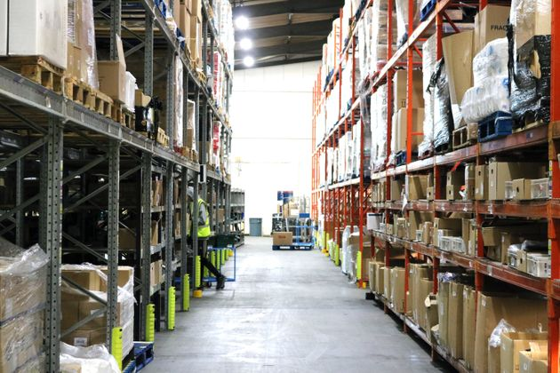 Thousands of products are held at In Kind Direct's Telford warehouse before being distributed to hundreds...