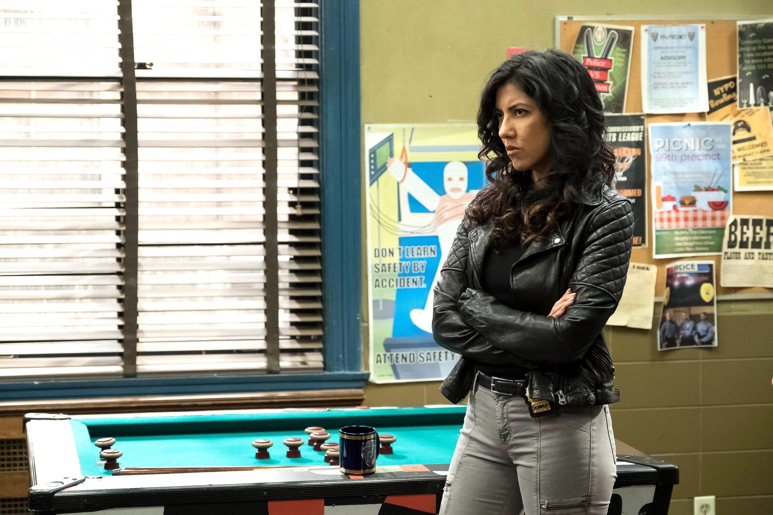 BROOKLYN NINE-NINE: Stephanie Beatriz in the new Moo Moo episode of BROOKLYN NINE-NINE airing Tuesday, May 2 (8:00-8:31 PM ET/PT) on FOX.  (Photo by FOX via Getty Images)