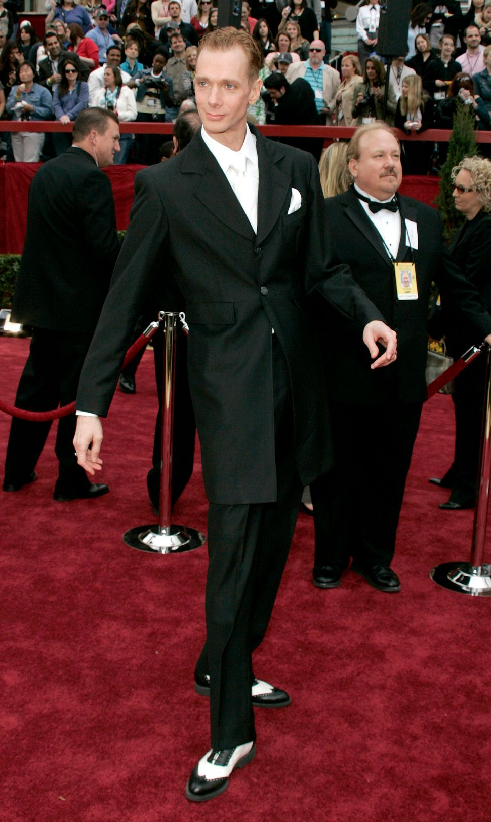 Doug Jones attends the Oscars on Feb. 25, 2007.