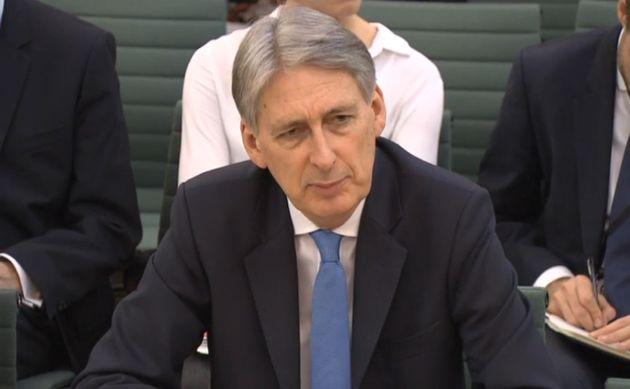 Philip Hammond at the Treasury Select