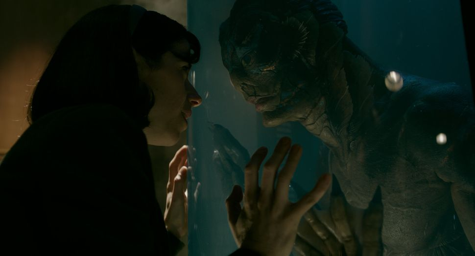 "Sally Hawkins and Doug Jones in ""The Shape of Water."""