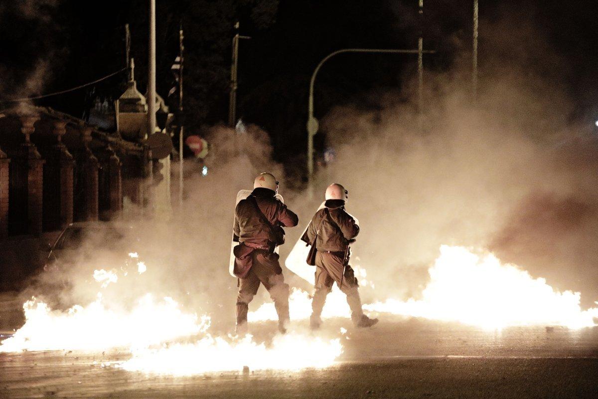 Η πορεία στην Αθήνα για τα εννέα χρόνια από τη δολοφονία του Αλέξανδρου