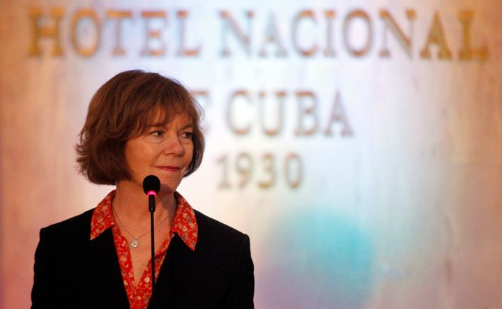 Tina Smith, shown here on a visit to Cuba in June, is a former vice president of the Midwest regional Planned Parenthood
