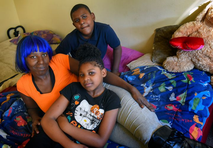 "<p>""Living with people that got asthma — it's really scary,"" said Darlene Summerville, here with son Keyonta and daughter Ka-niya.</p>"