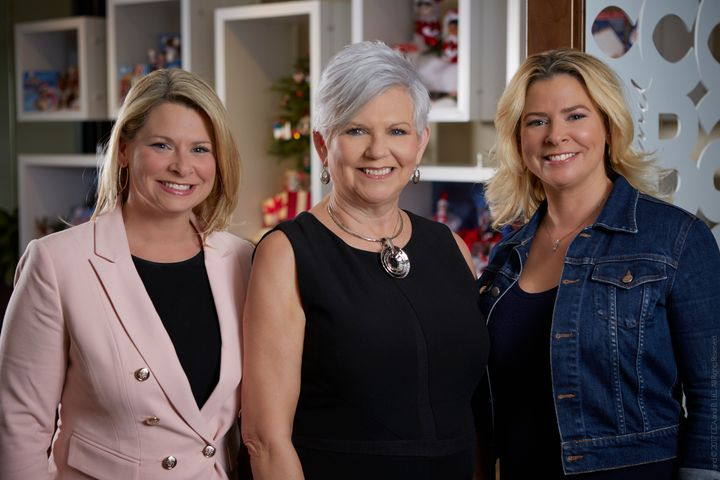 The Elf on the Shelf is the brainchild of stay-at-home mom Carol Aebersold and her grown twin daughters, Chanda Bell and Christa Pitts.