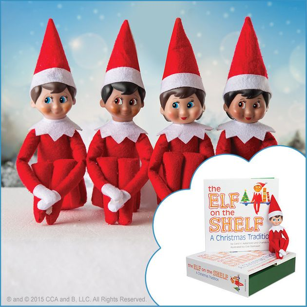 """We wanted to make sure that our elf was really sweet, and you could see it being a part of your..."