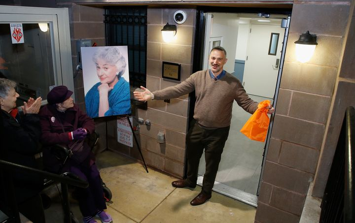 Ali Forney Center Executive Director Carl Siciliano attends the Bea Arthur Residence dedication on Nov. 30, 2017.