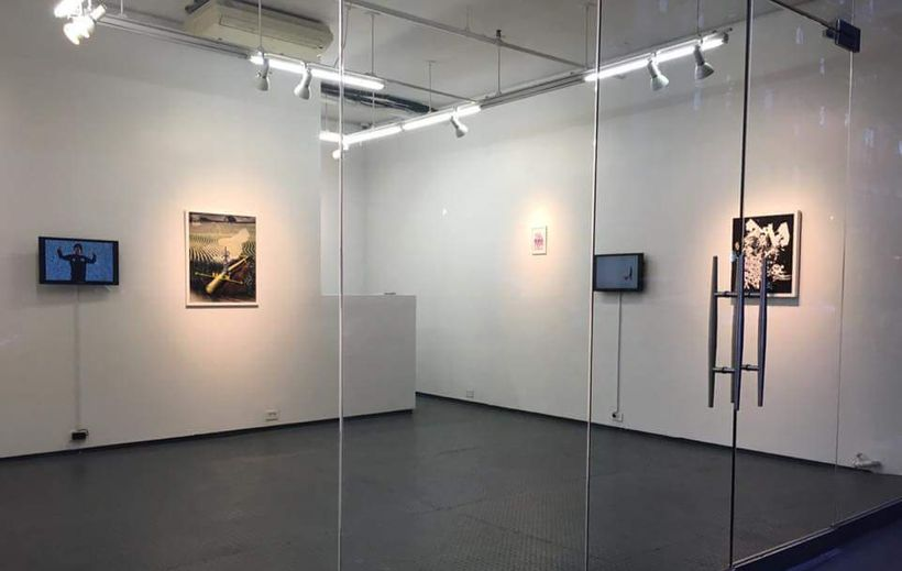 Installation view, In Time/Out of Place