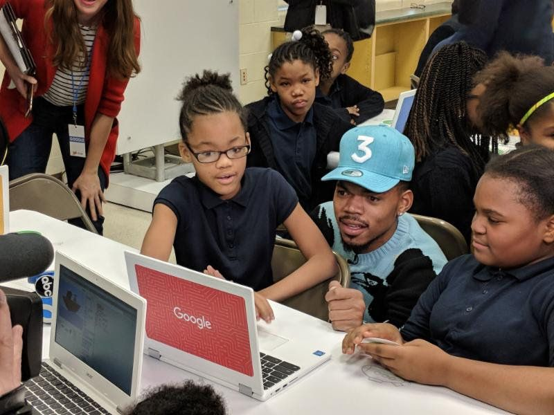 Google Donates $1M To Chance The Rapper's SocialWorks Organization